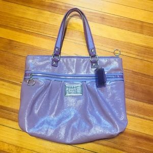 Coach Poppy Large Tote Bag - LIMITED EDITION